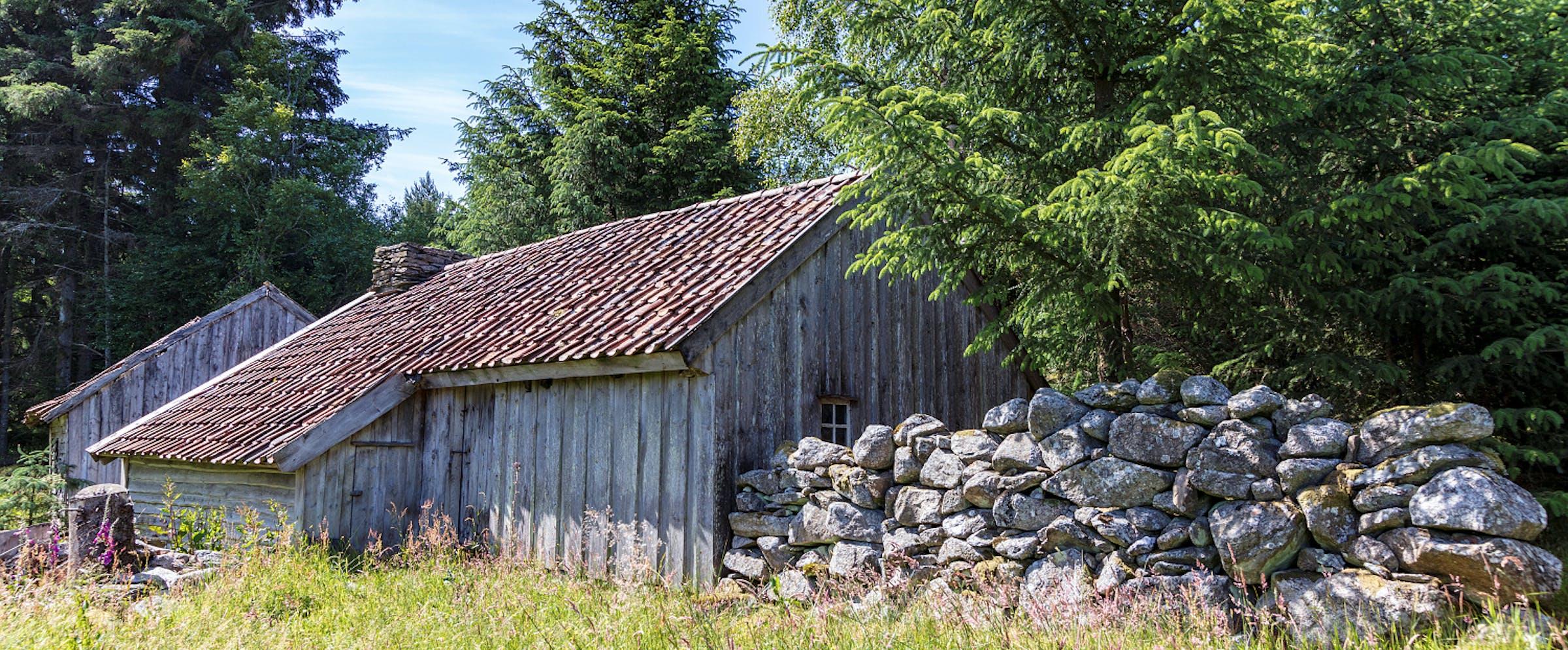 Bokn - Røykstova på Laupland