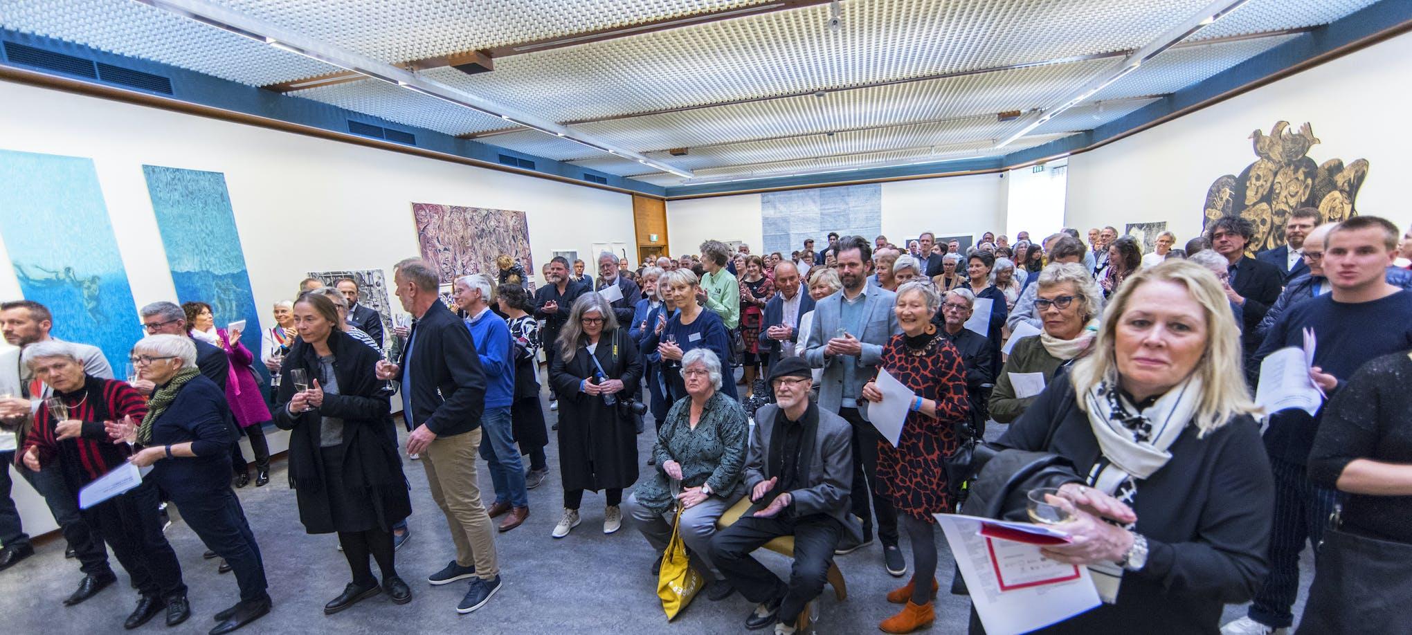 Bildet er tatt under åpningen av HIT-festivalen 2019. Fotograf: Grethe Nygaard
