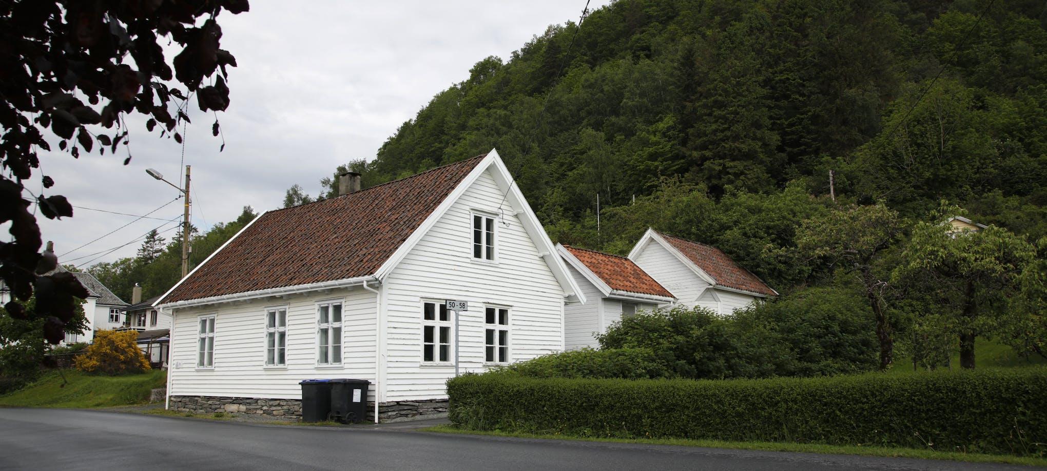Nedstrand bygdemuseum - gamle Stranda skule