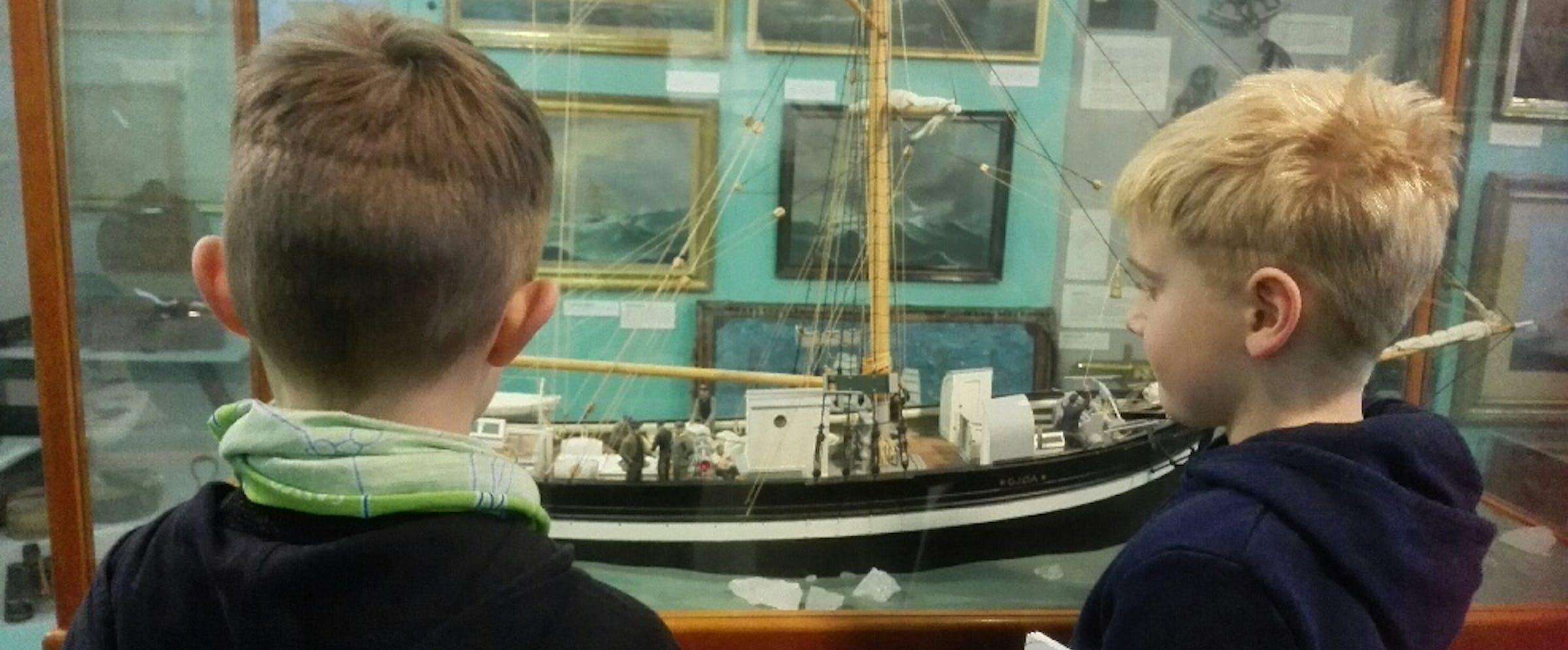 Barn i sjøfarten 2.