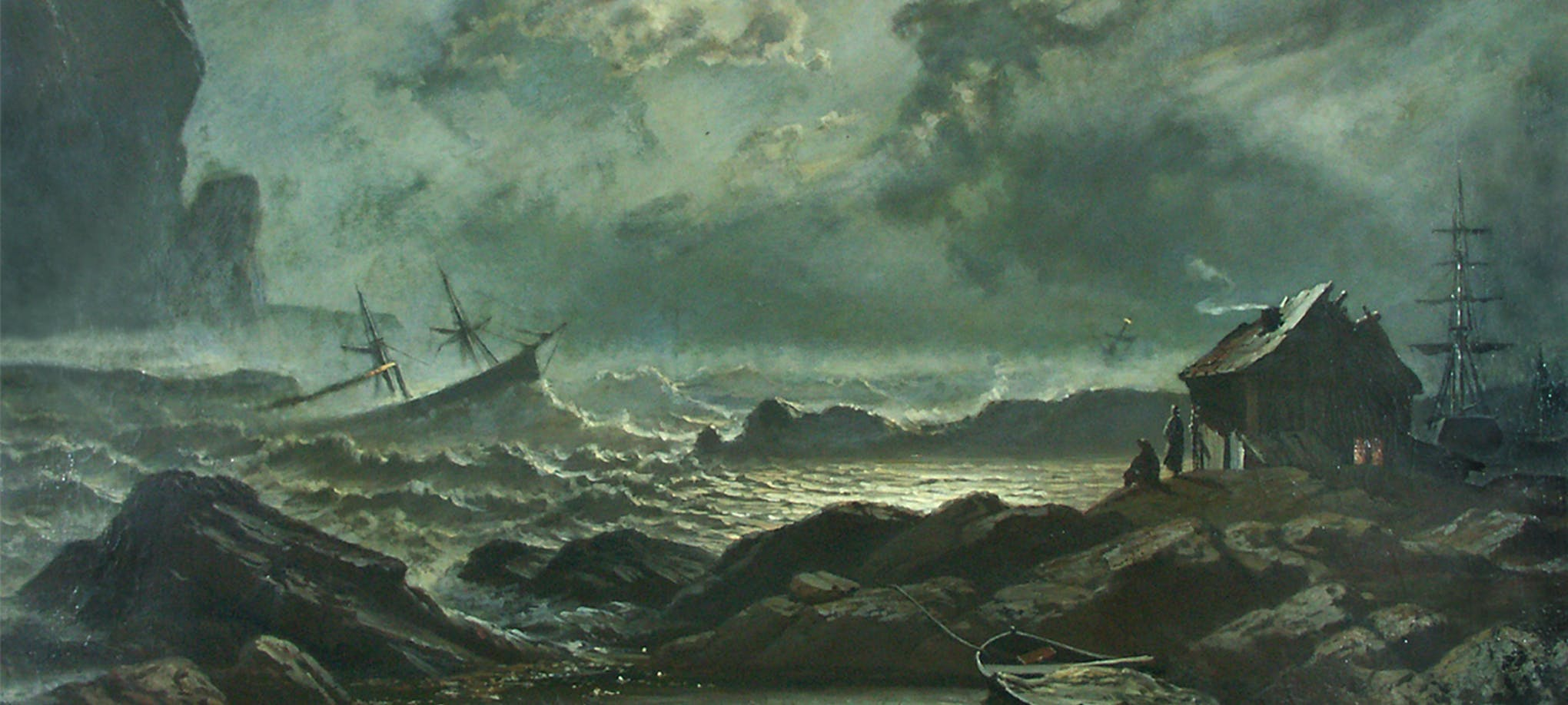 Knut Baade: Stormnatt ved norskekysten