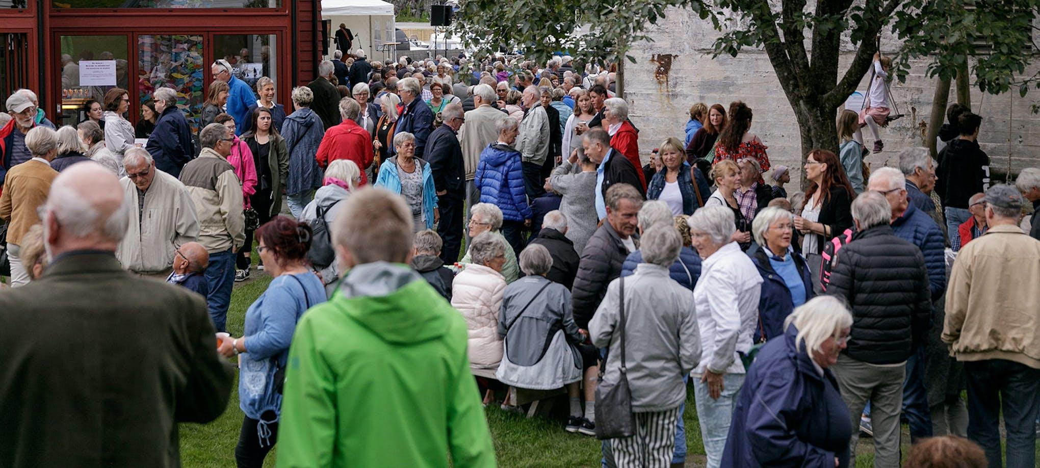 Museumsjazz i Dokken. *** Local Caption *** Publikum